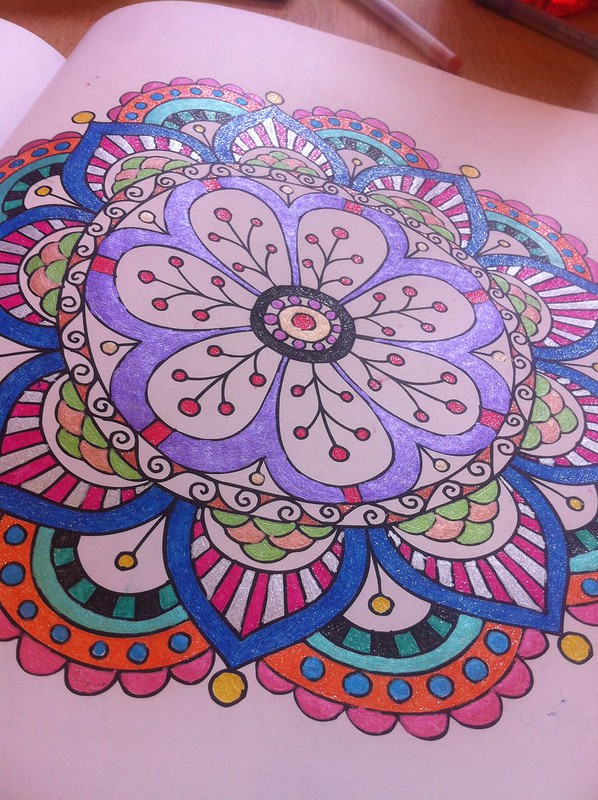 Meditation Colouring Book 5