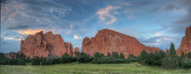 Sleeping Giant, Garden of the Gods