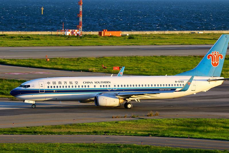B-5122 中国南方航空 737-800