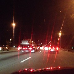 95 at 11:40. I hate this road. #commutefromhell