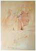 IEA01 Egypt Exploration Society - Howard Carter Watercolour