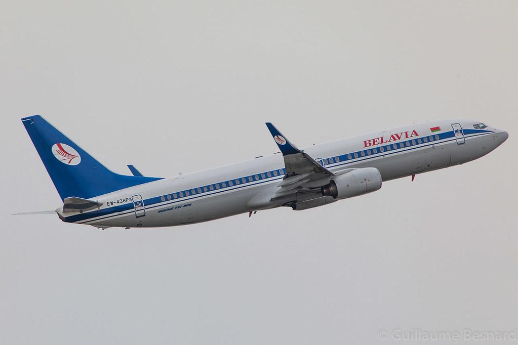 EW-438PA - B738 - Belavia