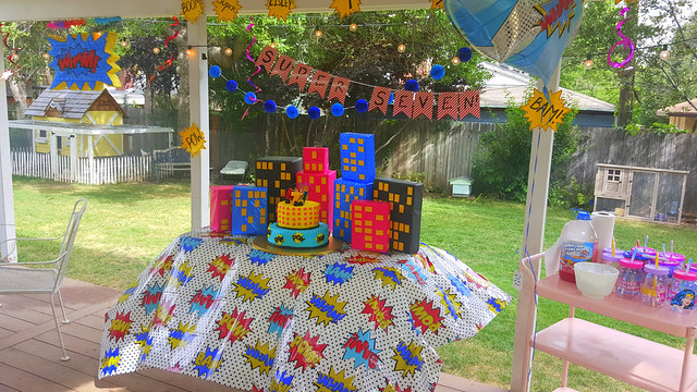 Eisley's Super 7th Birthday