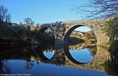 Ponte Sobre o Rio Dão - Ferreirós do Dão - Portugal