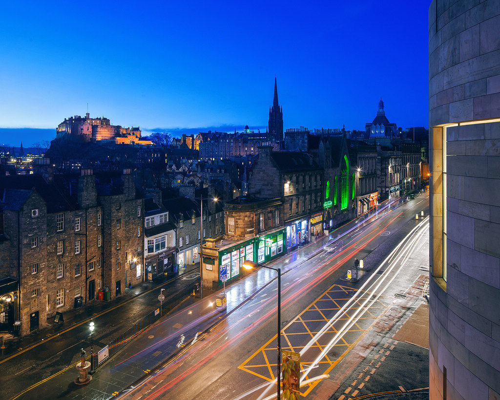 Luxury 5 star hotels in Edinburgh