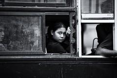 Girl on the bus~ Myanmar