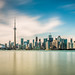 Toronto Skyline by Davoud D.