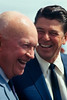 Dwight Eisenhower and Ronald Reagan, March 13, 1967