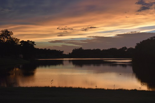 sunset sky cloud lake water weather clouds landscape outdoor dusk missouri waterscape