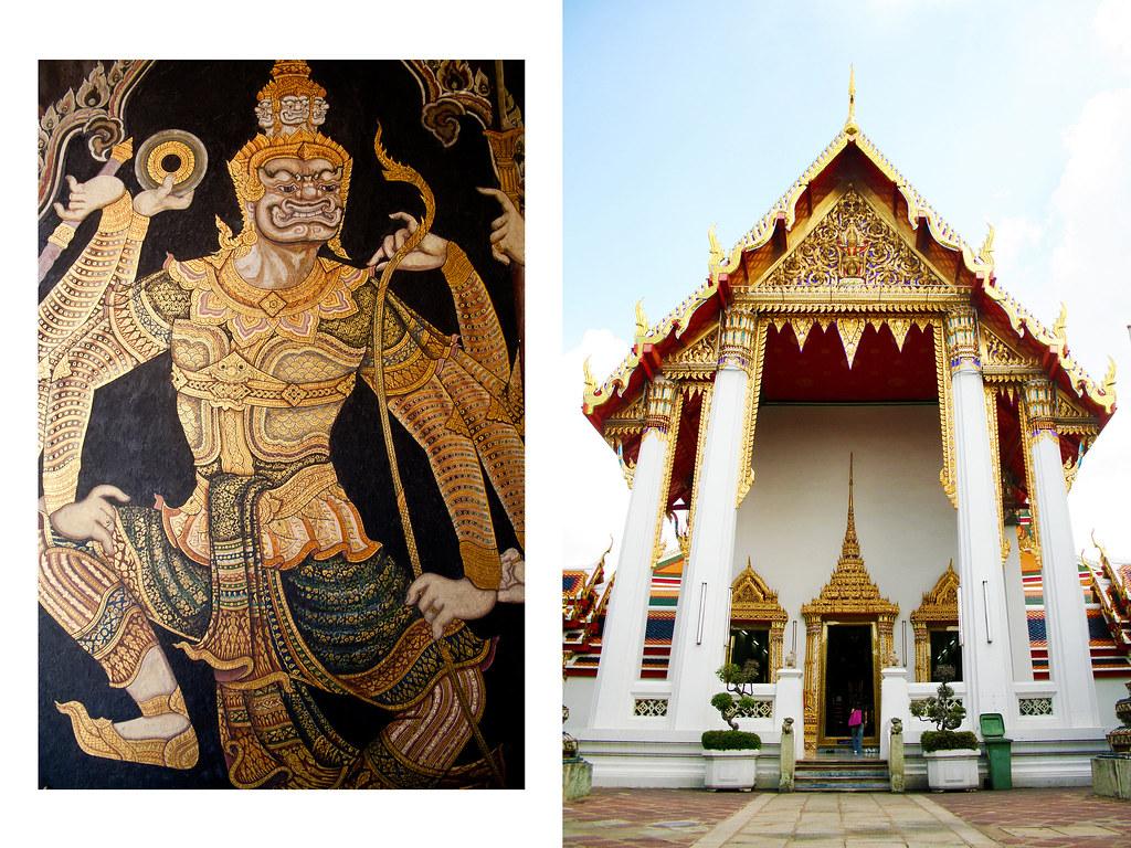 bangkok temple art 3