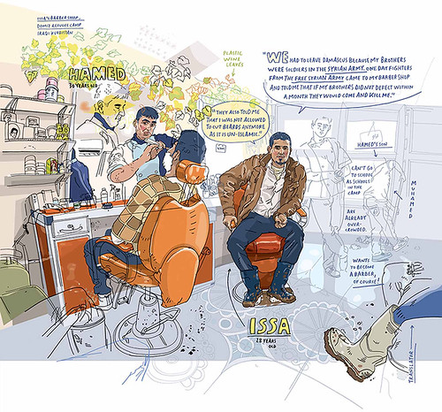 WIA2015_Olivier-Kugler_Portraits-of-Syrian-Refugees-in-Iraqi-Kurdistan