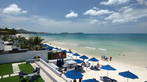 今日のサムイ島 7月12日 サムイリゾテルからの眺め