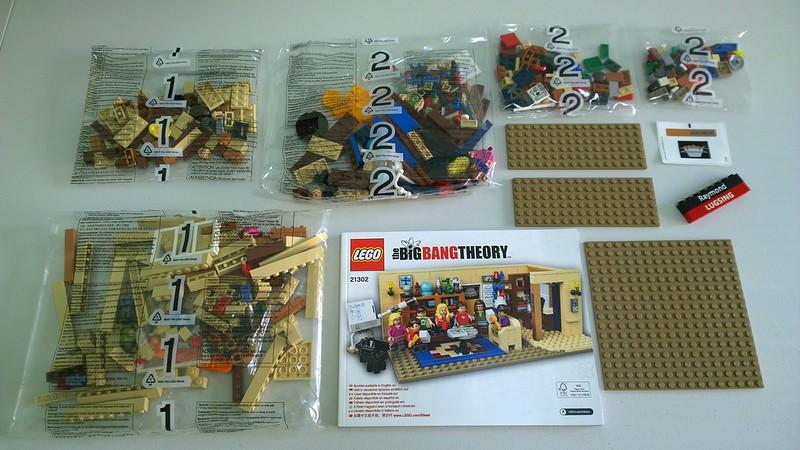 Review : #010 LEGO IDEAS - 21302 The Big Bang Theory 19638284401_2d3a646ec0_c