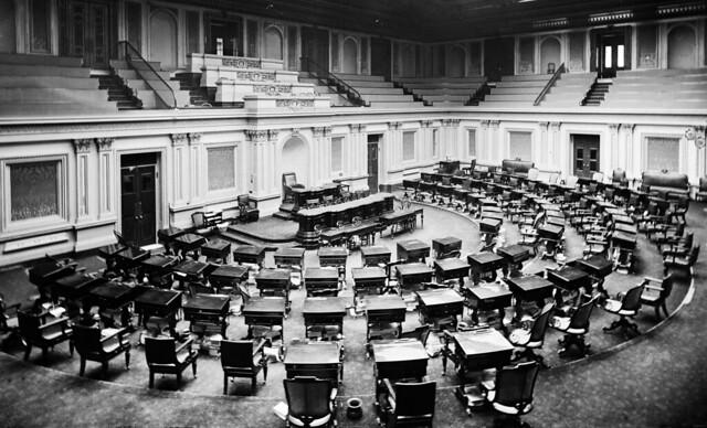 US Senate Chamber c1873