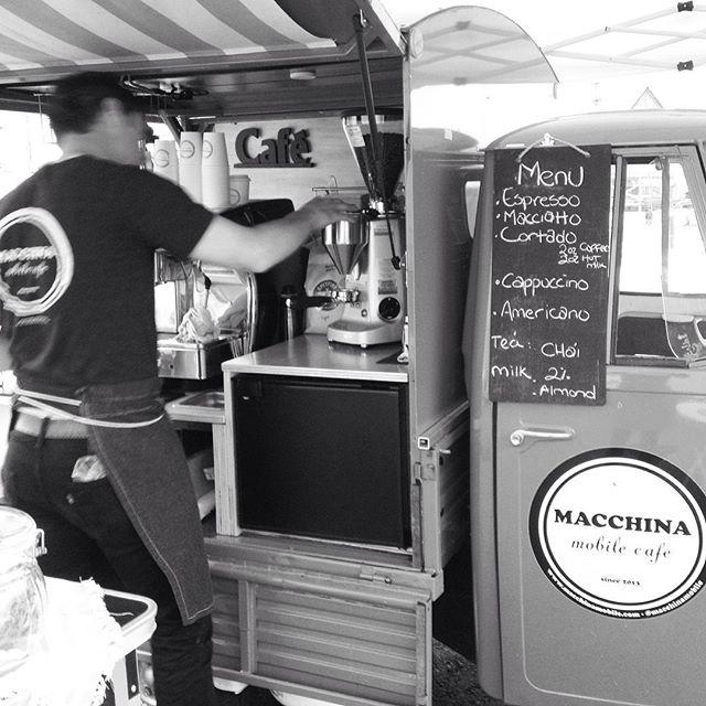 macchina mobile cafe