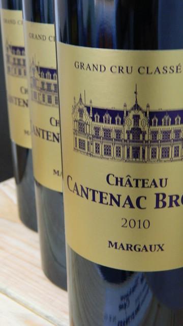 Chateau Cantenac-Brown 3eme Cru Classe 2010 (WA94)