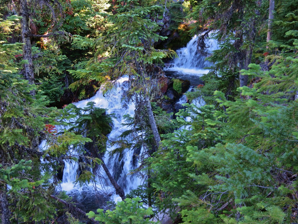 Waterfalls along Linton Creek