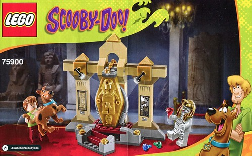 LEGO Scooby Doo 75900 Mummy Museum Mystery ins01