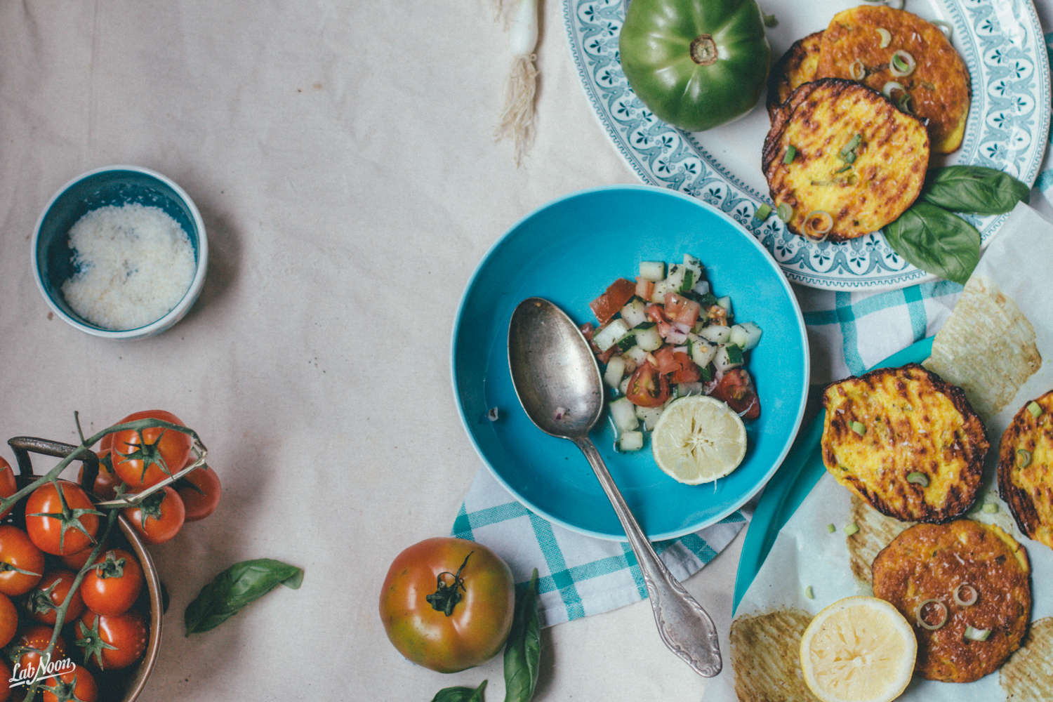 Gluten Free Fritters with Ricotta & Coconut Flour | Frittelle Senza Glutine con Farina di Cocco | Lab Noon by Saghar Setareh-15