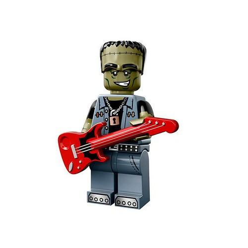 LEGO 71010 Collectible Minifigures Series 14 12 - Monster Rocker