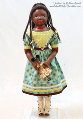 """Jubilee"" a doll inspired by Izannah Walker.  Handmade by Robbin Atwell"