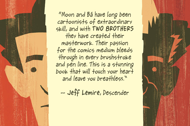 Two Brothers Lemire Quote