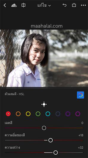 Lightroom Film Green Dark iPhone