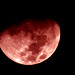 [ - the moon moments ago in faux red - ] by Tremor Saint