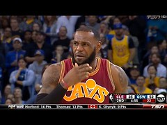 Draymond Green FUNNY Flagrant Foul on LeBron James | WARRIORS vs CAVS | Jan 16, 2017 | 16-17 Season