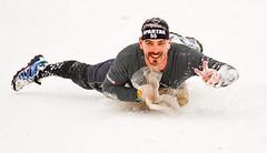 Běžel jsem Winter Spartan Race na Dolní Moravě