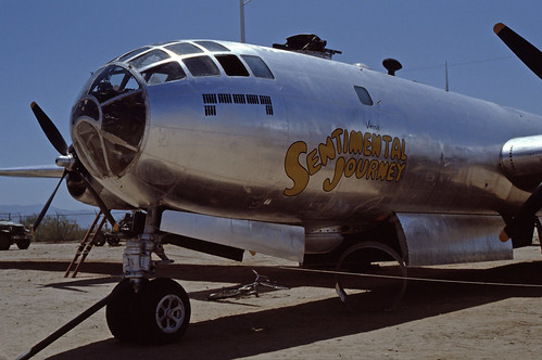 Boeing B-29 Superfortress Pima Air & Space Museum, July 1980