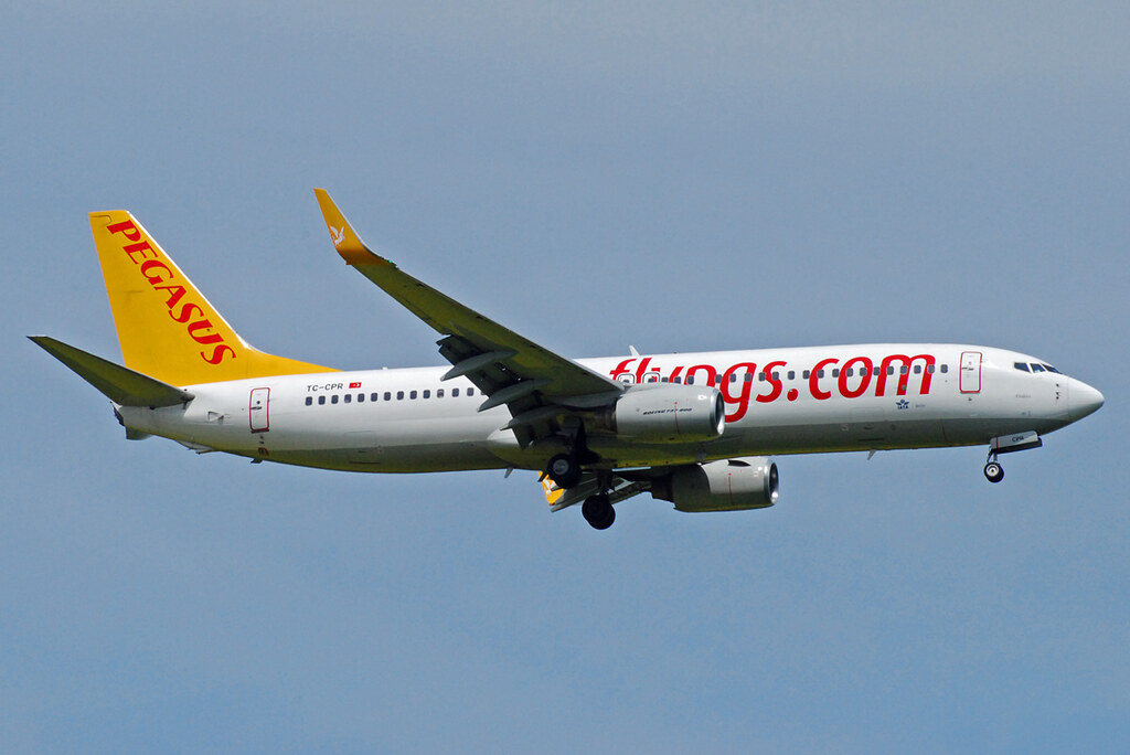 TC-CPR - B738 - Pegasus Airlines