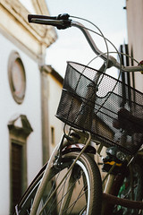 En Lucca todos van en bici