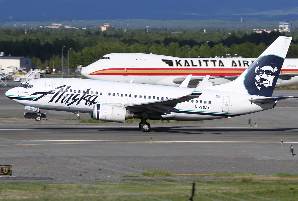 Off from RWY33 with Kalitta's N704CK behind. Delivered 01/2001