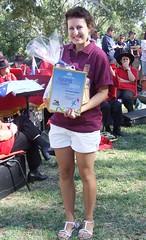 2009 0126 Australia Day Young Citizen Elizabeth Hatcher  (5)