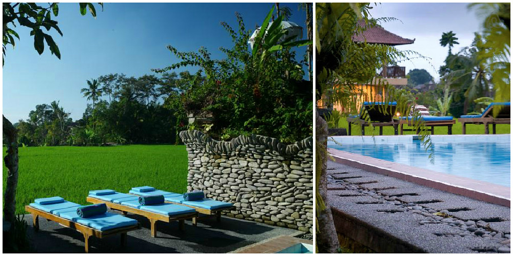 2. Sri Bungalows pool collage