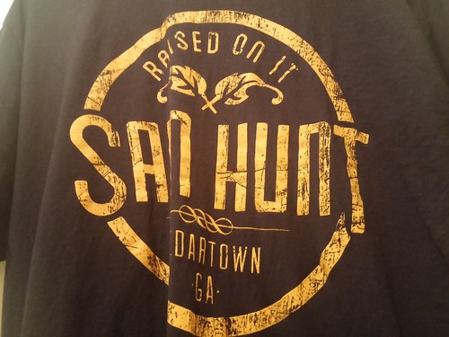 day185: my first Sam Hunt shirt