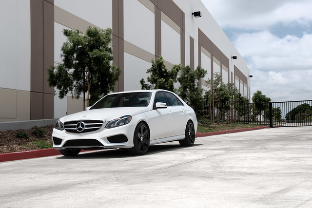 Mercedes Benz E350 with Mandrus Atlas