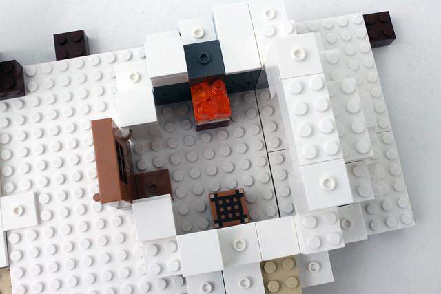 Review - 21120 LEGO Minecraft The Snow Hideout από BRICKFAN 19570033610_5fa2444fbf_z