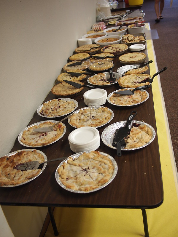 Vader Church Pie Table