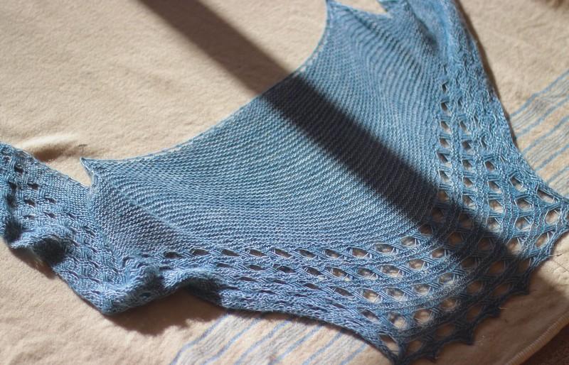 Washing & Blocking Shawls - Part two — Truly Myrtle