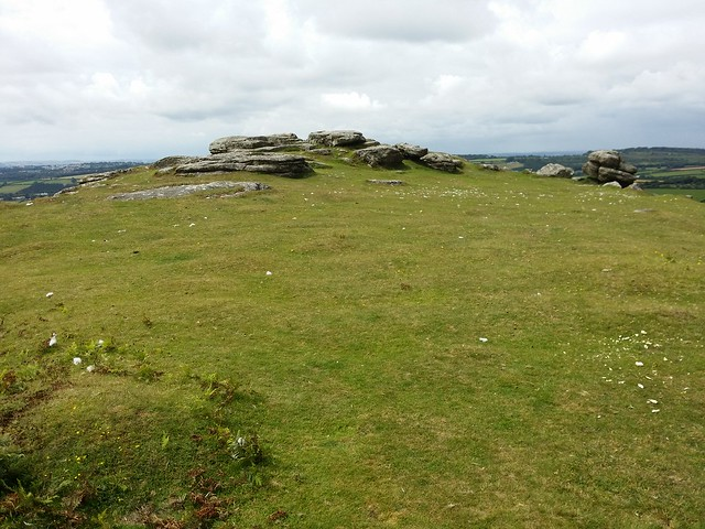 Unnamed Tor above Dewerstone Rock