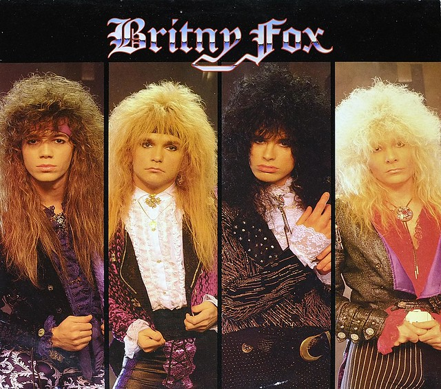 "BRITNY FOX S/T SELF-TITLED 12"" LP VINYL"