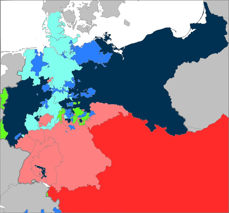 Central Europe aftermath of the Austro-Prussian War
