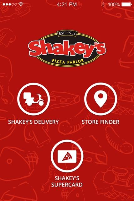 Shakey's Mobile App