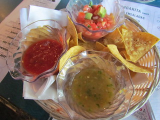 Chips and salsa from La Margarita