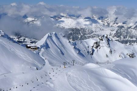 Encyklopedie: Vorarlbersko - sněhová pokladnice Rakouska