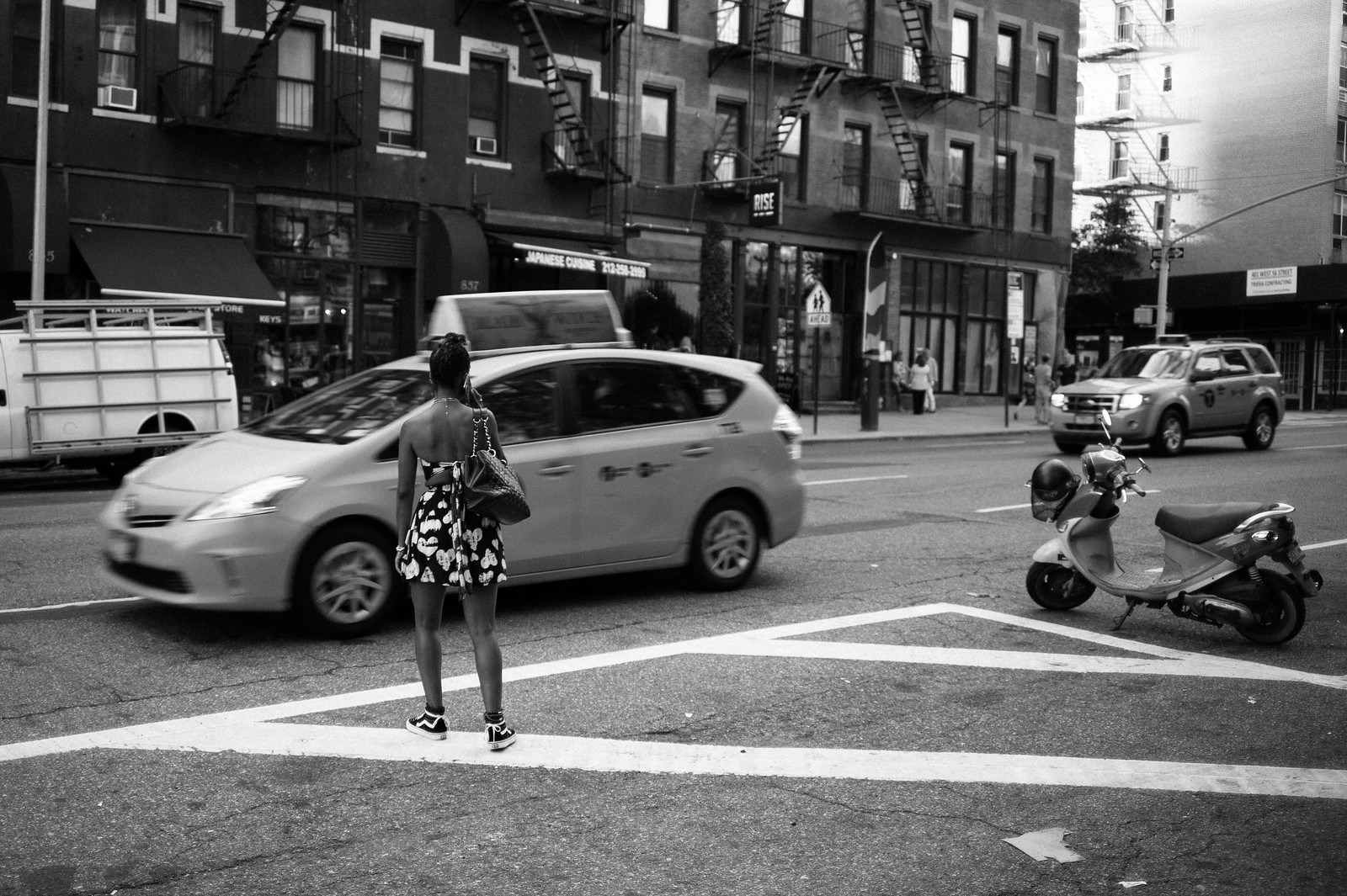 "Image titled ""Fire Escapes #4, NYC."""