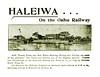 Haleiwa Oahu Railway