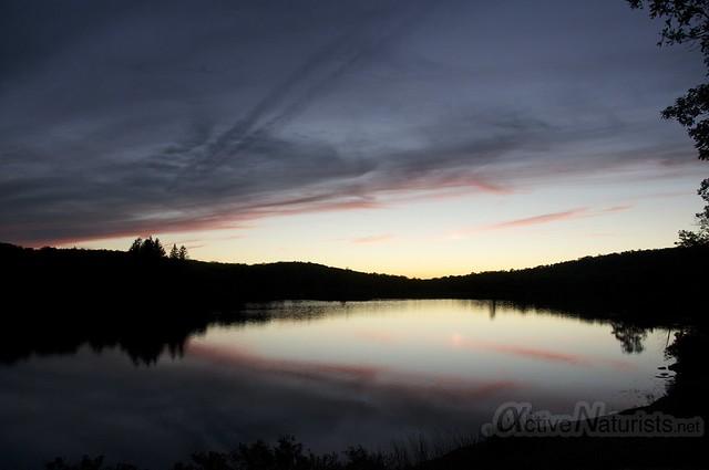 sunset view 0005 Harriman State Park, New York, USA